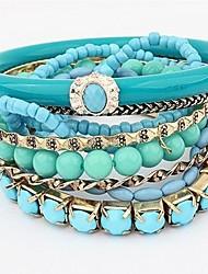 bracelet en perles de femmes
