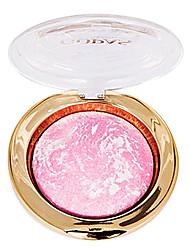 Single Color Bronzer Beautiful Makeup Look Blush