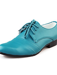TPU Blue Dress Shoes