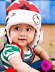 invierno, además de terciopelo sombrero de cazador de los niños de 5-24 meses