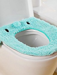 chateada banho tapete higiênico super macio 41x35 flanela animal cartoon (cor aleatória)