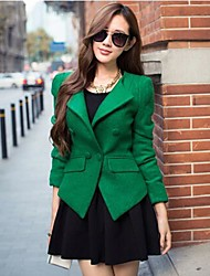 TS Simlicity Lapel Double Breast Trend Pocket Women's Blazer