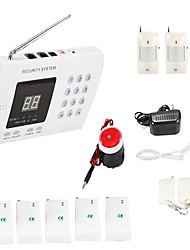 Wireless 99 Zones PIR Home Security Burglar Alarm System Auto Dialing Dialer