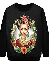 De pinkqueen® vrouwen dame afdruk pullover halloween sweatshirt
