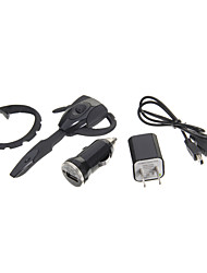 PS3 Bluetooth Headset Headphone & USB Cable & US Adapter & Car Charger