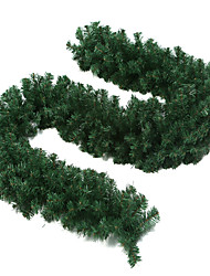 2.7m Green Christmas Decorating Garland