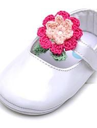 Zapatos de bebé Boda/Al aire libre/Oficina/Vestido/Informal/Fiesta y Noche Piel/Cuero sintético Bailarinas Blanco