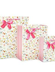 sacos de presente do teste padrão floral (mais cores)