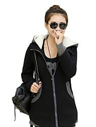 manteau polaire de hottes de femmes (plus de couleurs)
