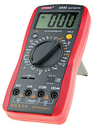 UA92 Digital Multimeter Manual Range AC DC Voltage 2000V Current Resistance Capacitance 10 MΩ 60Hz