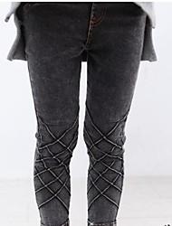 Girl's Denim Jeans , Winter/Spring/Fall