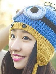 moda chapéu de lã das mulheres