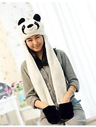 unisex longa seção bonito panda quente gorro aminal kigurumi difusa