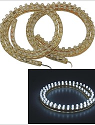 Carking™ PVC-72cm Flexible Waterproof LED Light Strip for Cars/Motorcycles-2PCS