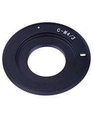 neewer® anello adattatore c-m4 / 3 lenti di montaggio per Olympus Pen EP1 EP2 EPL1 Panasonic Lumix GF1 g1 g2