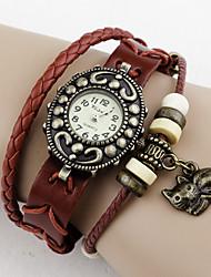 кот кулон старинные часы
