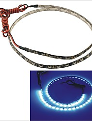 Carking™ 335-60SMD-60CM Waterproof Flexible Car Decorative Side Shine Strip Light(12V)