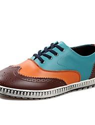 Scarpe da uomo Casual Di pelle Sneakers alla moda Nero/Marrone/Verde