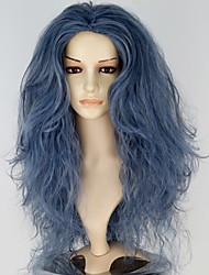 Cosplay Wigs Fairytale Movie Cosplay Blue Solid Wig Halloween / Christmas / New Year Female