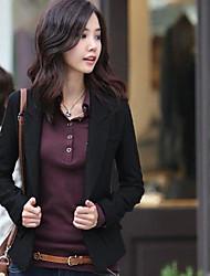 женская тонкий моды верхняя одежда