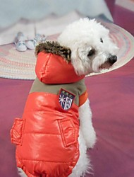 Dog Hoodie / Clothes/Clothing Orange Winter National Flag Cosplay