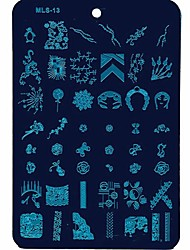 Nail Art Stamping Image Plates Manicure Template Nail Templates for Daily Nails DIY Manicure