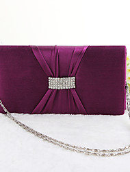 Women Formal/Event/Party/Wedding/Office & Career Silk Magnetic Shoulder Bag/Clutch/Evening Bag/Money Clip