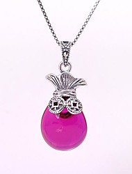 AS 925 Silver Jewelry  Flower Pendant