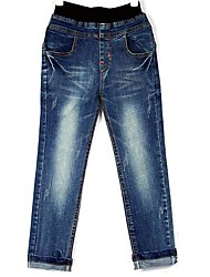 Boy's Winter Thick Long jeans
