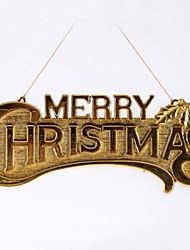 29cm Merry Christmas Hanging Board(2pcs)