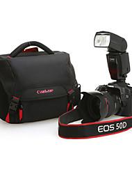 canbale single-ombro saco da câmera à prova d'água c20 com capa de chuva