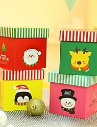 merry christmas Dekoration Geschenk-Boxen (Elch, weihnachtsmann, Pinguin, Schneemann)