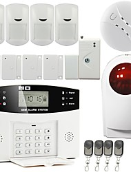 LCD Alarm Wireless Home GSM Burglar Alarm System to Anti Brglar with Siren GS-G110E