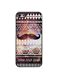 Personalized Phone Case - Mustache Design Metal Case for iPhone 5/5S