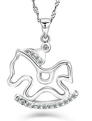 Q-lovely Fashion Lovely Silver Pendant