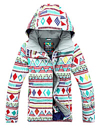 Gsou Snow Outdoor Kawaii Snowgirl Women's Waterproof Skiing Down Jacket