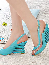 Women's Wedge Heel Peep Toe Sling back Sandals Shoes(More Colors)