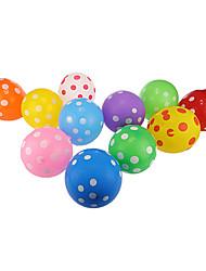 dot palloncini colorati rotondi spessi - set di 24