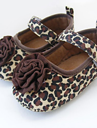 Girl's Flats Spring / Summer / Fall First Walkers / Crib Shoes Fabric Wedding / Dress / Party & Evening Flat Heel Flower / Magic Tape