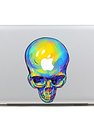 SKINAT Removable lovely funny colored human skeleton tablet laptop sticker computer  for macbook Air 11,260x270mm