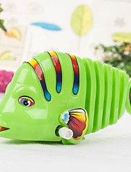 Baby Child Infant Clockwork Cute Fish Body Tail Move Funny Toy