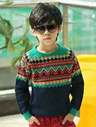Boy's Knitwear Sweater & Cardigan,Winter / Fall Paisley