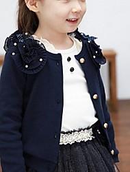 Girl's Cotton Sweater & Cardigan , Winter/Spring/Fall Long Sleeve