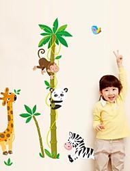Odyssey ™ auto-adhésif de bricolage chambre d'enfants hauteur créatif bâton mur amovible étanche autocollants