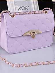 VENCHY Causal Check Handbag  10069 Cream,Black,Purple,Fuchsia,Pink