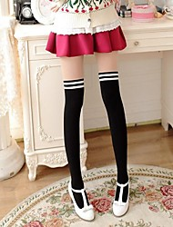 Women's Double color stitching Pantyhose