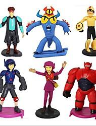 Big Hero 6 Action Figure Sets (6pcs/lot)