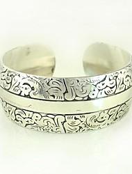 1pcs bracelet n0.7 argent sculpté la mode