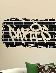 Wall Stickers Wall Decals, Home Decor Paris Murals Poster PVC Wall Stickers
