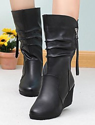 Lacey Fashion Zipper Haulage Motor Boots